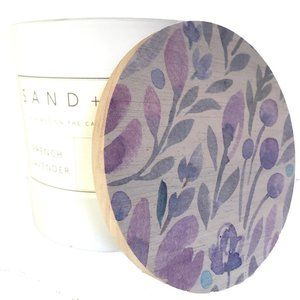 Sand + Fog French Lavender Scented Soy Candle